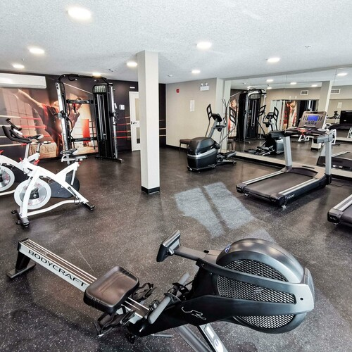 Fully Equipped Fitness Centres