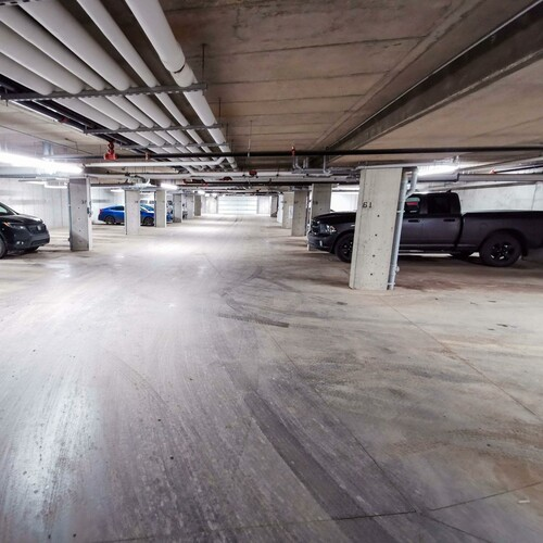 Secured Underground Parkades