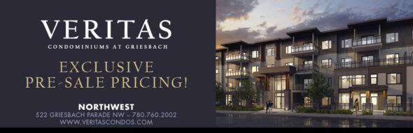 Veritas Condominiums opens February 3rd in Griesbach!